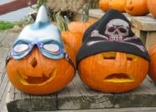 Jack O' Lanterns with Hats